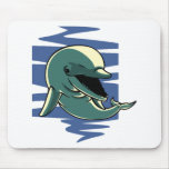 Smiling Dolphin Mousepads