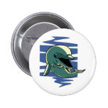 Smiling Dolphin Pinback Buttons
