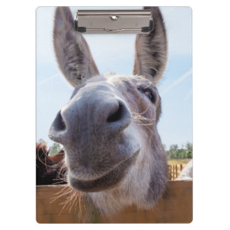 Smiling Donkey Clipboard