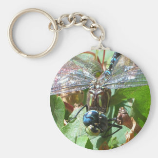 Smiling Dragonfly Key Chain