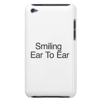 Smiling Ear To Ear iPod Touch Cases
