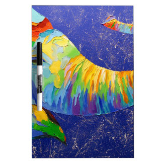 Smiling elephant dry erase board