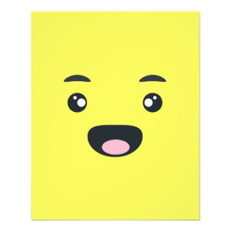 Smiling Emoji 11.5 Cm X 14 Cm Flyer