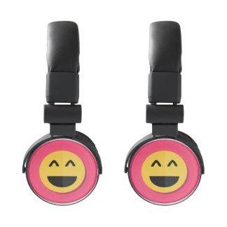 Smiling Emoji Headphones