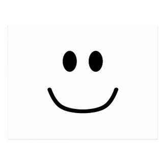 Smiling Expression Postcard 0002 (Custom Color)
