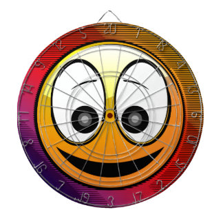 Smiling Face Character Dartboards