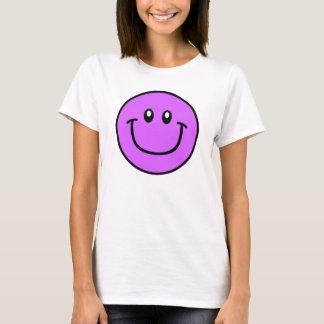 Smiling Face Shirt Purple 0003