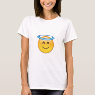 Smiling Face With Halo Emoji T-Shirt