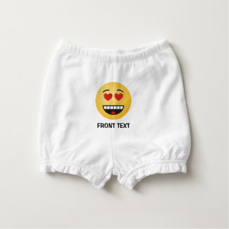 Smiling Face with Heart-Shaped Eyes Nappy Cover