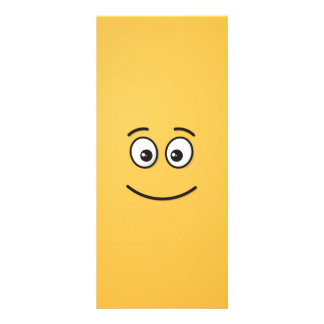 Smiling Face with Open Eyes Full Color Rack Card
