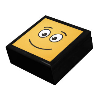 Smiling Face with Open Eyes Large Square Gift Box