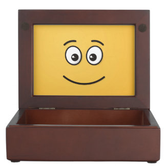 Smiling Face with Open Eyes Memory Boxes