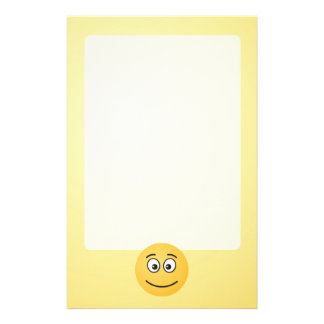 Smiling Face with Open Eyes Stationery