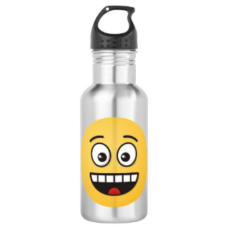Smiling Face with Open Mouth 532 Ml Water Bottle