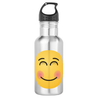Smiling Face with Smiling Eyes 532 Ml Water Bottle