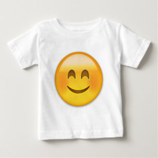 Smiling Face With Smiling Eyes Emoji Baby T-Shirt
