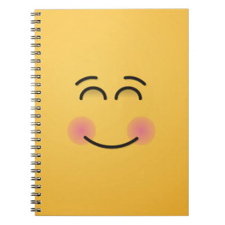 Smiling Face with Smiling Eyes Notebook