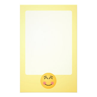 Smiling Face with Smiling Eyes Stationery