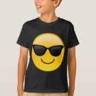 Smiling Face With Sunglasses Cool Emoji T-Shirt