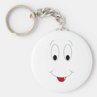Smiling Face With Tooth Keychain
