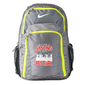 SMILING FESTIVAL (wht) Backpack