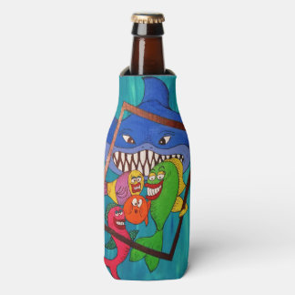 Smiling Fish Bottle and Can Cooler