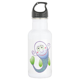 Smiling Fish Water Bottle