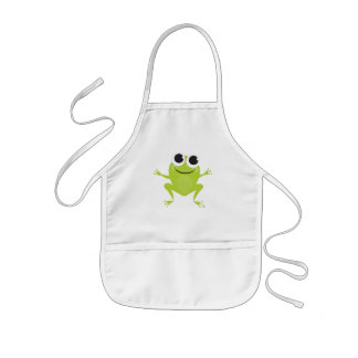 Smiling Frog Children's Apron
