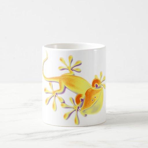Smiling Gecko Coffee Mugs