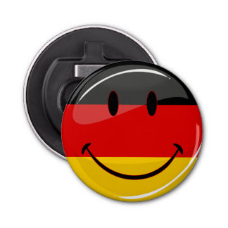Smiling German Flag Bottle Opener