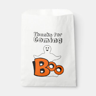 Smiling Ghost Boo Favour Bags