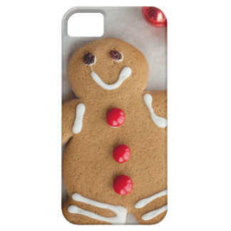 Smiling gingerbread man iPhone 5 case