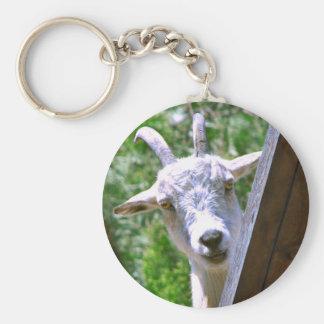 Smiling Goat keychain