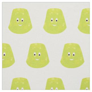 Smiling gumdrop fabric