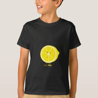 Smiling half lemon character T-Shirt