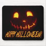 Smiling Halloween Jack-o-Lantern Mousemat