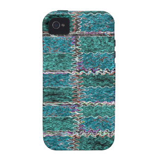 Smiling Happy Blue Sparkle iPhone 4/4S Cases