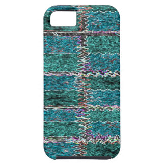 Smiling Happy Blue Sparkle iPhone 5 Covers