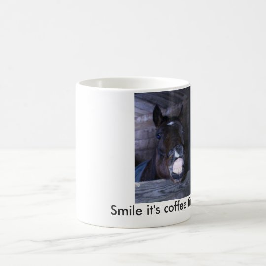 Smiling horse Coffee mug