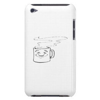 Smiling Hot Cup of Coffee Barely There iPod Case