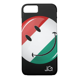 Smiling Hungarian Flag iPhone 7 Case
