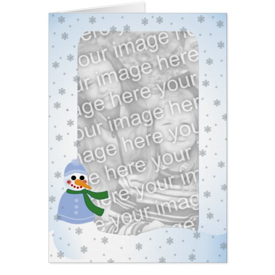 Smiling in the Snow Card