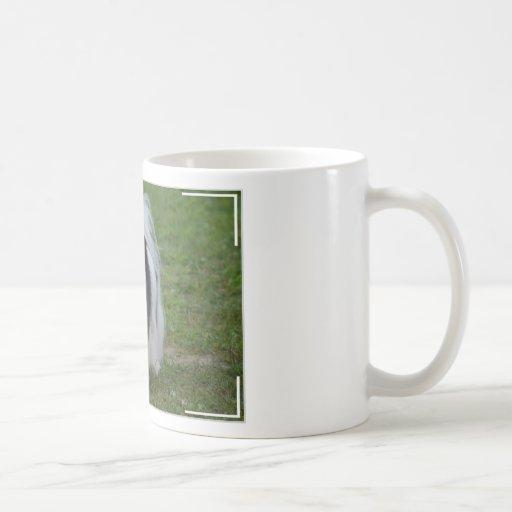 Smiling Japanese Chin Coffee Mug