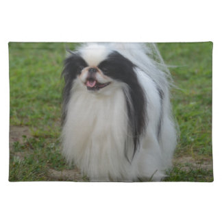 Smiling Japanese Chin Place Mats