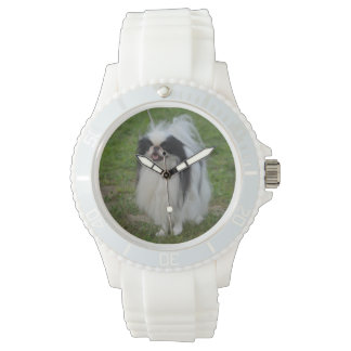 Smiling Japanese Chin Watch