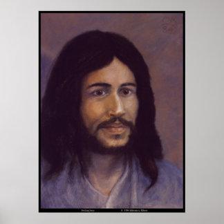 Smiling Jesus, Jewish Jesus image Poster