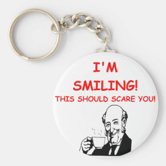 smiling keychains