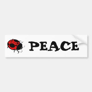 Smiling Ladybug  - Bumper Sticker