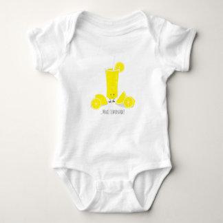Smiling Lemonade Glass | Baby Bodysuit