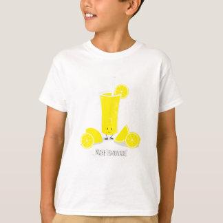 Smiling Lemonade Glass   Kids T-shirt